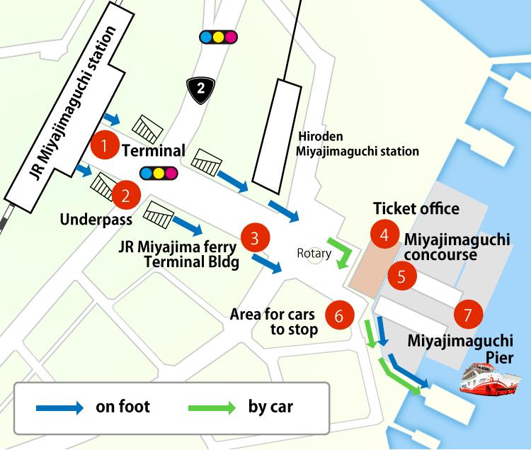 Platform Access / Boarding Instructions