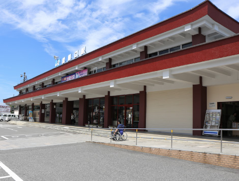 JR Miyajimaguchi Station (at the ticket gates)