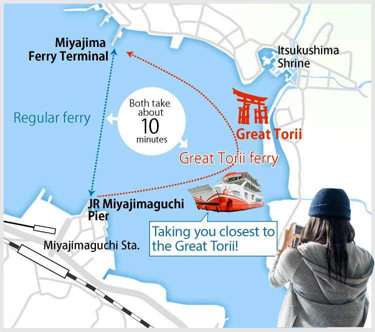 Great Torii ferry